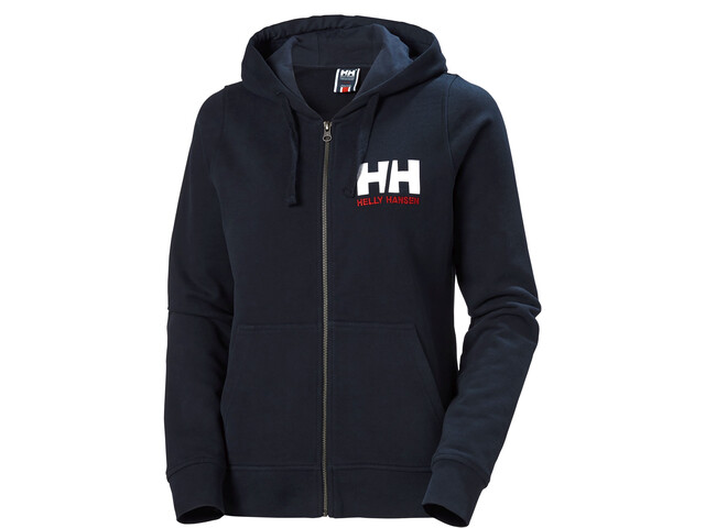 Helly Hansen HH Logo Full Zip Hoodie Women, azul